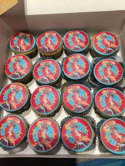 Cupcakes Piet Piraat