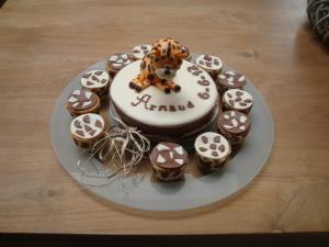 Cupcakes Tijger