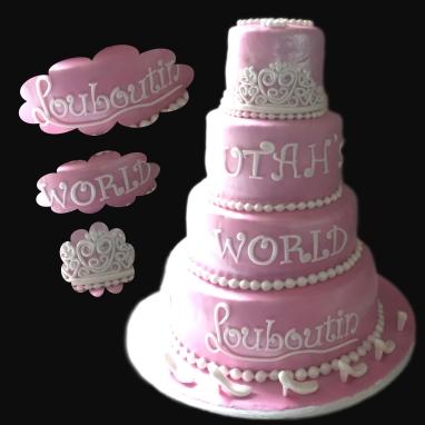 leboutin taart